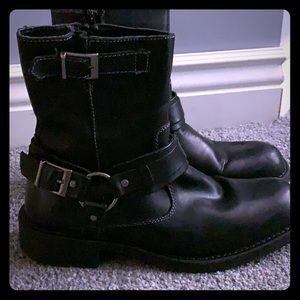 Lined Motorcycle style boot